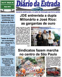 Diario da estrada maio 2014