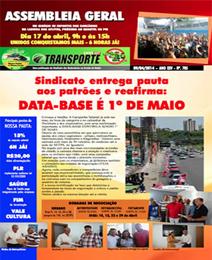boletim rodoviarios da Bahia abril