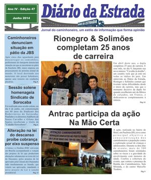Jornal Diário da Estrada junho