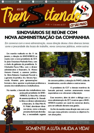 Boletim Transitando São Paulo -12/01/17