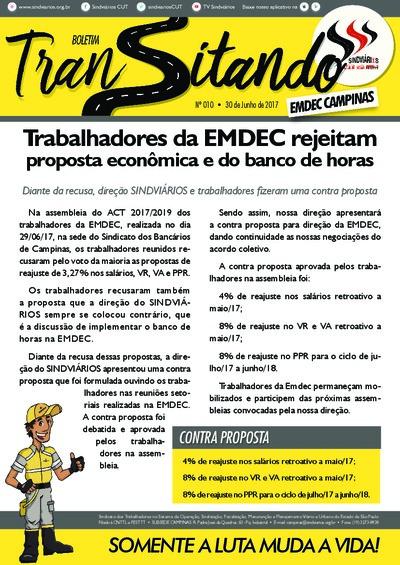 Transitando EMDEC Campinas  - 30/6/17