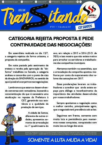 Transitando CET Santos - 14/07/17