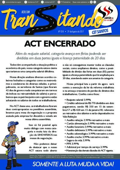 Transitando CET Santos