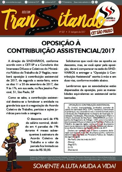Transitando CET São Paulo - Ago/2017
