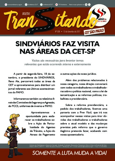 Transitando CET São Paulo - Set/2017