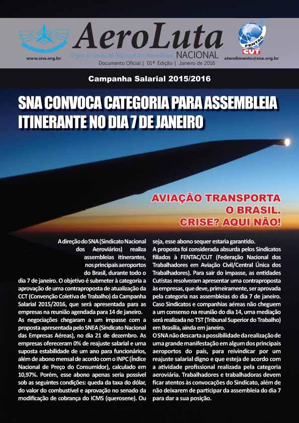 AeroLuta SNA - Janeiro 2016