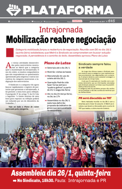 Jornal Plataforma