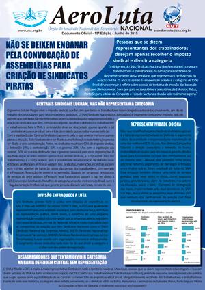 Documento Oficial - 15ª Edição - Junho de 2015 Aeroluta