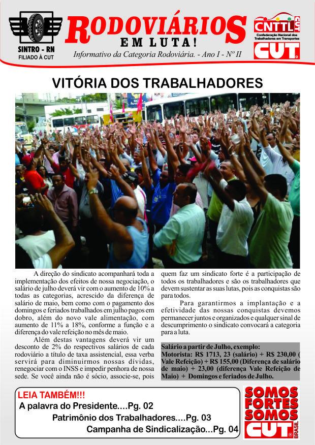 Jornal - Sindicato dos Rodoviários do RN