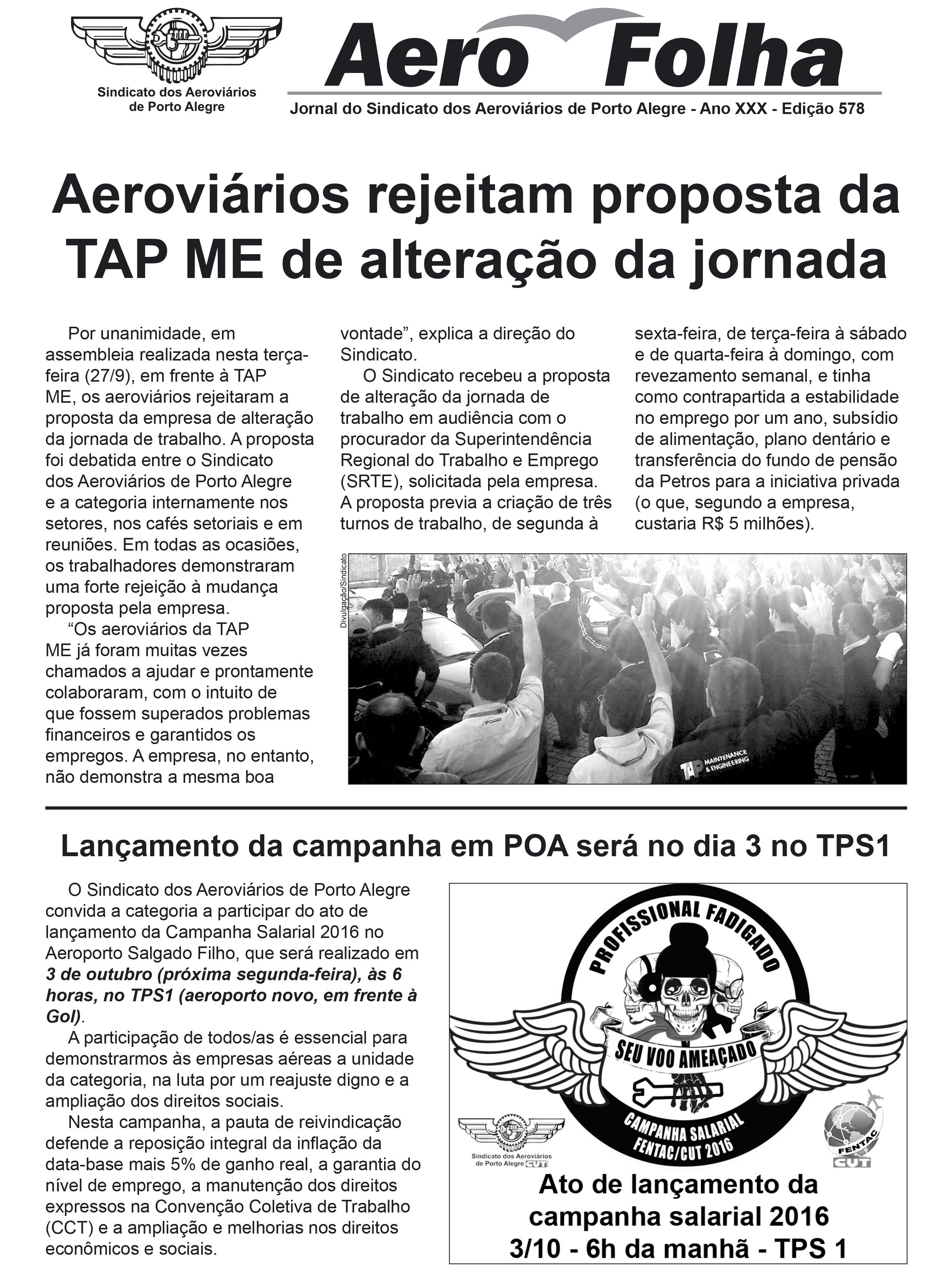 Aerofolha Ed. 578