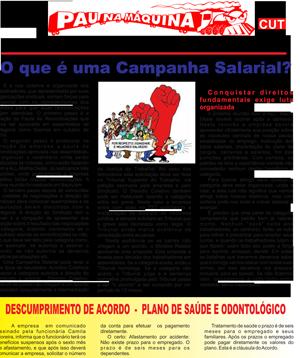 Jornal Ferroviárias de Bauru e Mato Grosso do Sul Nº266 - 11/02/2015
