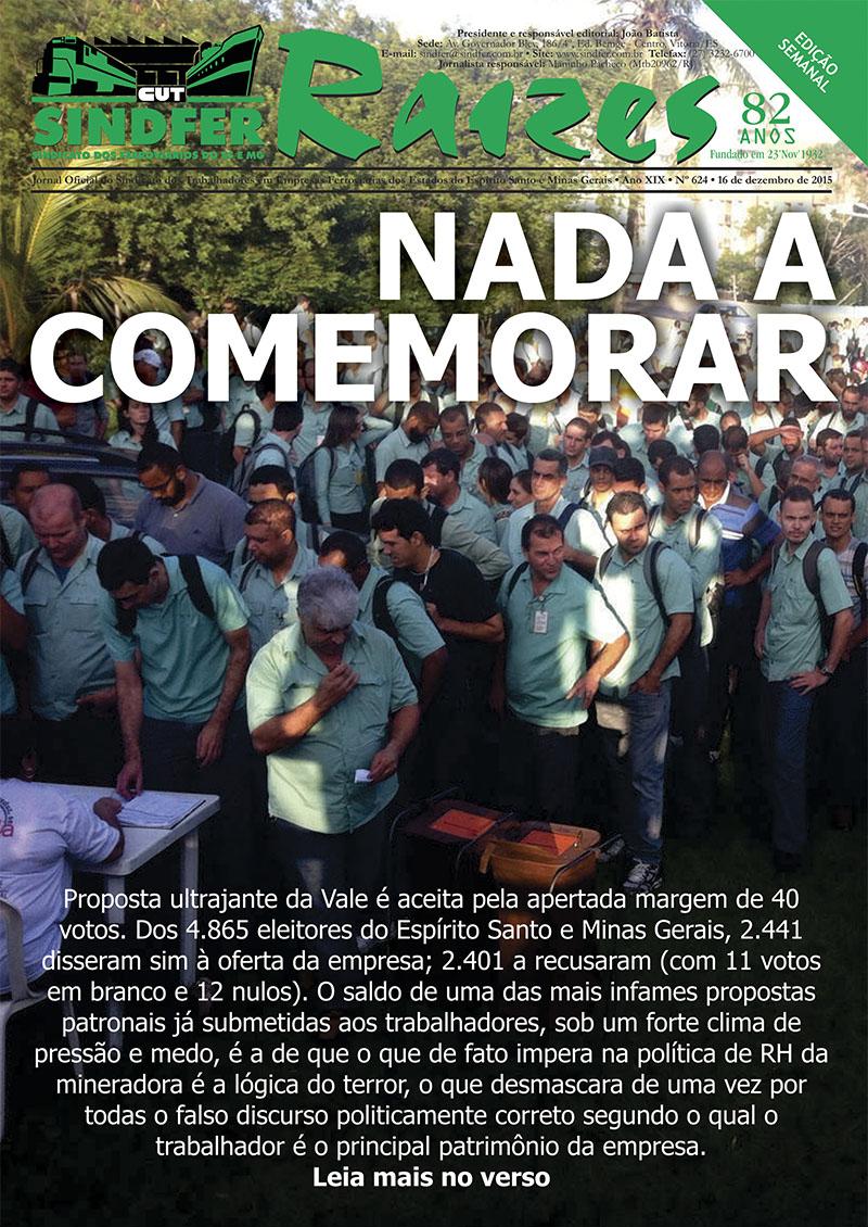 Jornal Sindfer - Raízes- 16 de dezembro de 2015