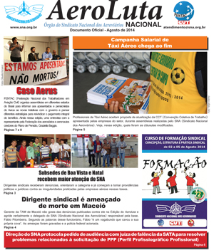 Jornal AeroLuta (SNA) Agosto