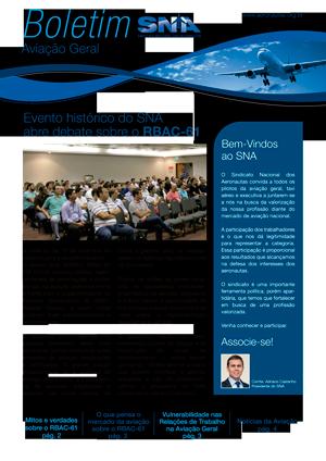 Boletim SNA - Aviação Geral - 2014