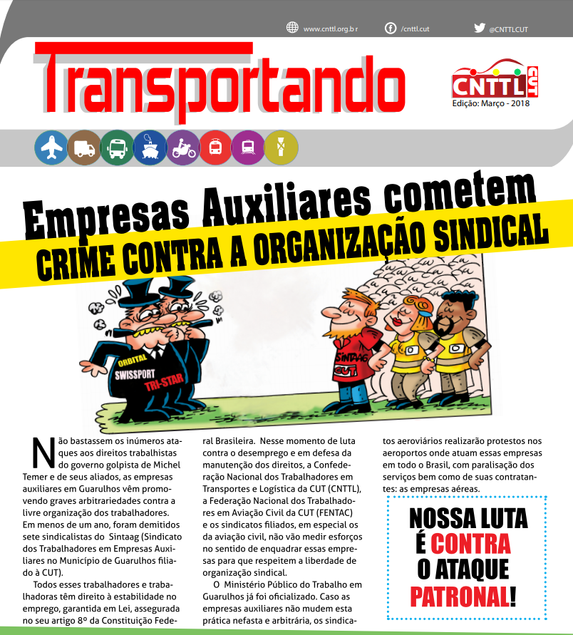 Boletim CNTTL - Edição Março/2018