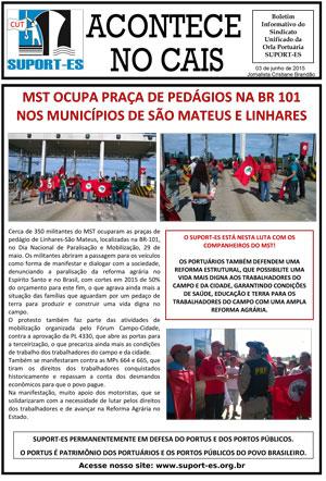 Boletim - Orla Portuario - 03/07/2015