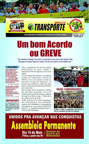 Boletim - Sindicato da Bahia - Nº 723