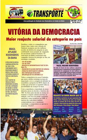 Boletim - Sindicato da Bahia - Nº 724