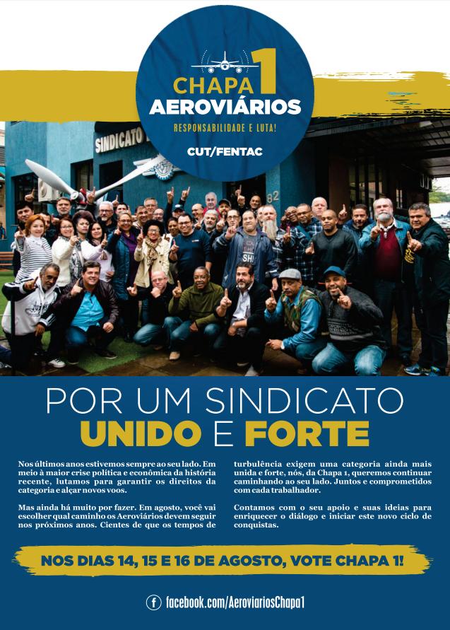 Jornal Chapa 1 - Aeroviários