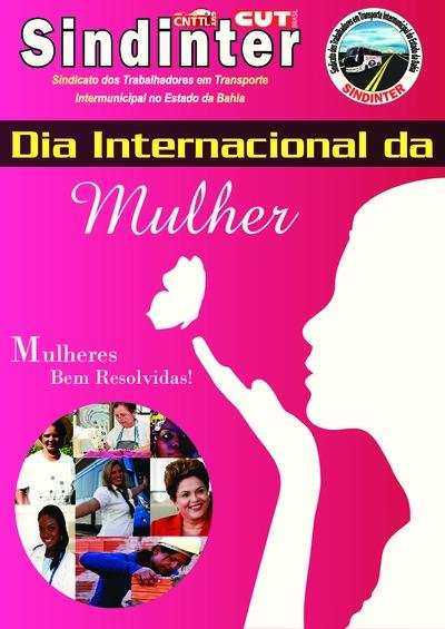 Dia internacional da Mulher - Sindinter