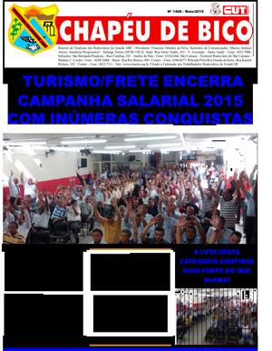 Jornal Chapéu de Bico Nº 1408 / 2015