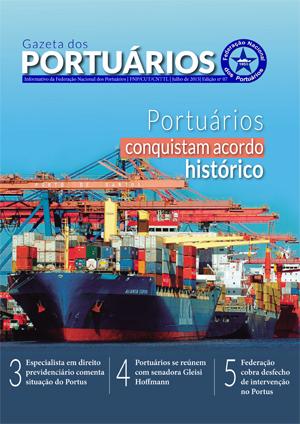Gazeta dos Portuários - Julho - 2015