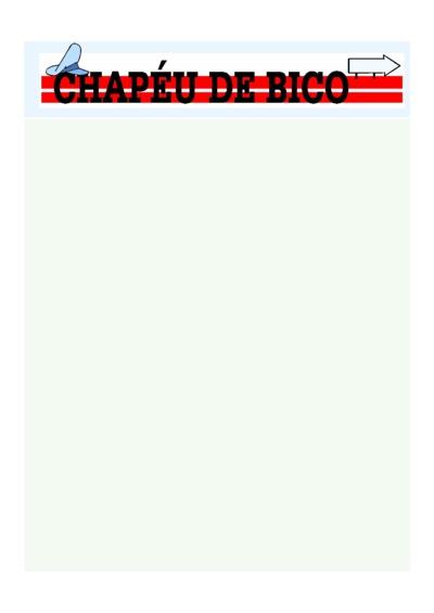 Chapéu de Bico - Rodoviários - Jun/17
