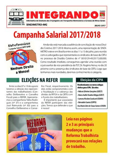 Integrando - Metroviários MG - Jul/17