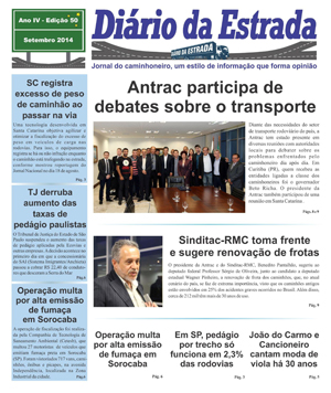 Jornal Diário da Estrada Setembro