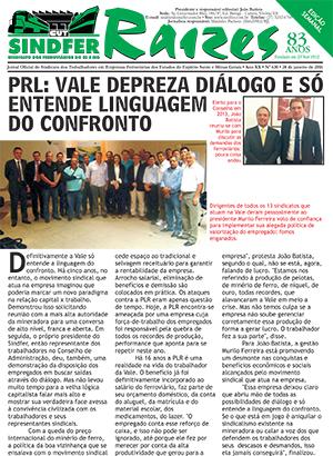 Jornal Raízes - Ferroviários do ES e MG