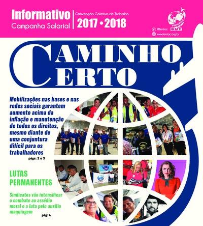 Jornal Campanha Salarial Fentac 2017 - Especial