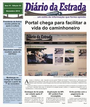 Jornal Diário da Estrada - Novembro
