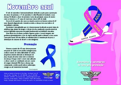 Outubro rosa e novembro azul - Aeroviários de Porto Alegre - 2017