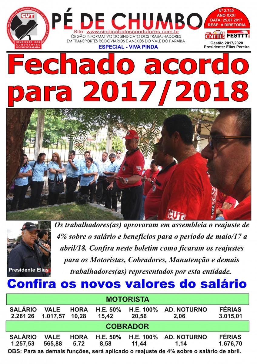 Pé de Chumbo - Especial Vira Pinda - 25/7/17