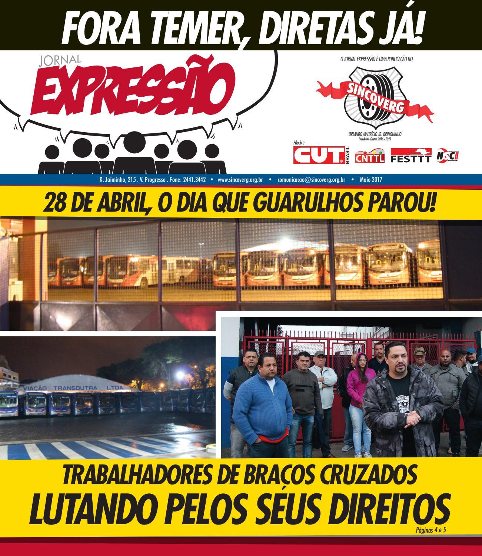 Jornal Expressão - Sincoverg - Maio/17