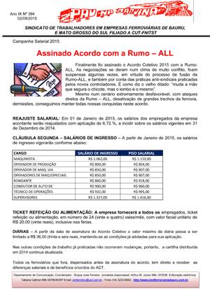Pau na Maquina - Ferroviários de Bauru e Mato Grosso do Sul - Set/15