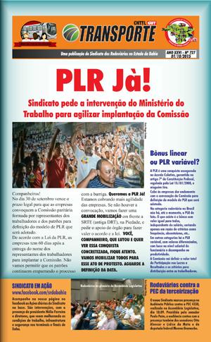 Boletim - Sindicato da Bahia - Nº 727