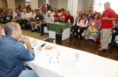 Imagem de CUT e Lula debatem agenda do trabalhador