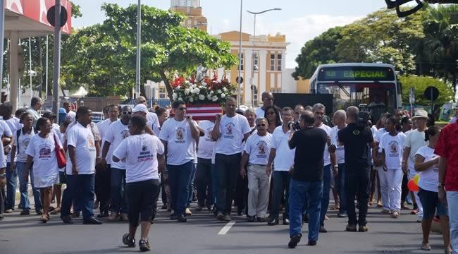 Imagem de Bahia: No dia do motorista, rodoviários mantêm tradição na homenagem a São Cristóvão