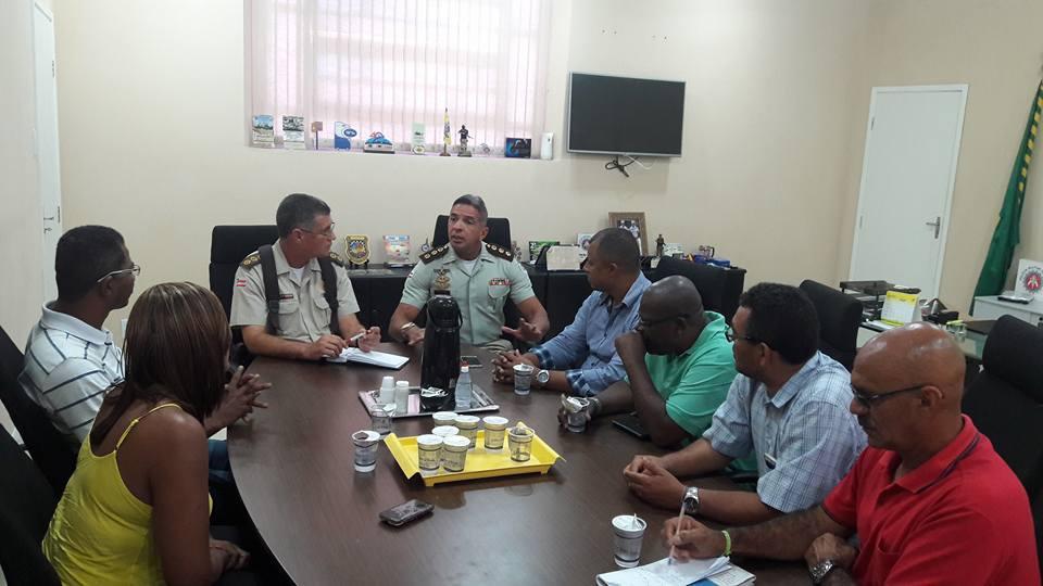 Imagem de Bahia: Rodoviários se reúnem com comando da PM para cobrar mais segurança