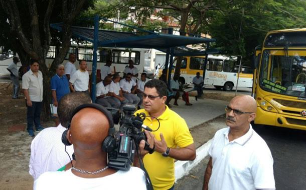 Imagem de Bahia: Rodoviários visitam final de linha para verificar condições de trabalho