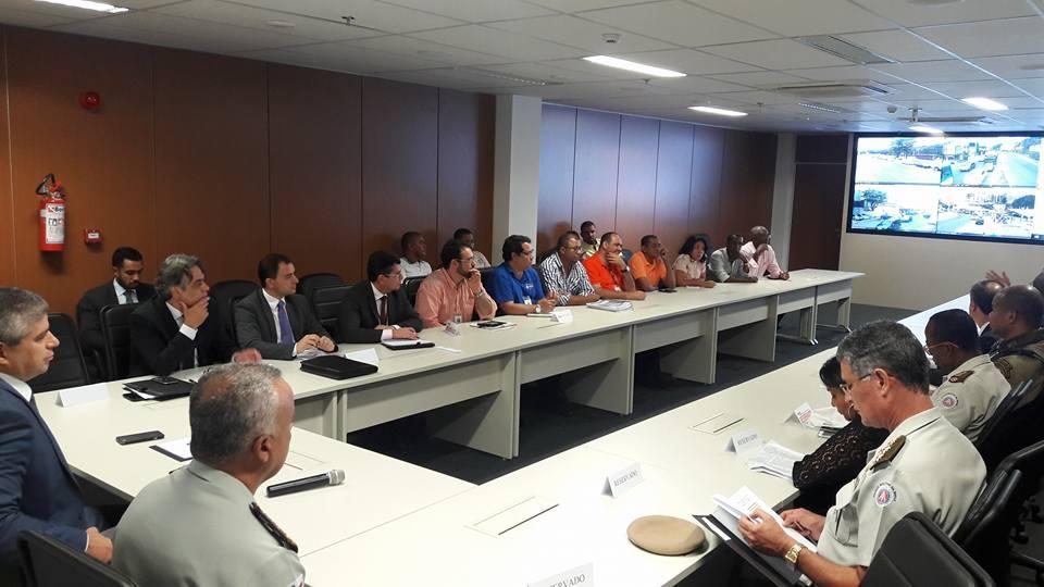 Imagem de Bahia: Rodoviários participam de reunião do Comitê Integrado em Defesa do Transporte Rodoviário