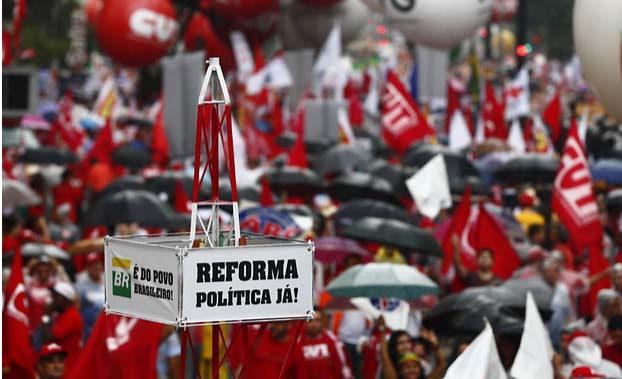 Imagem de Luta pela reforma política precisa ser intensificada