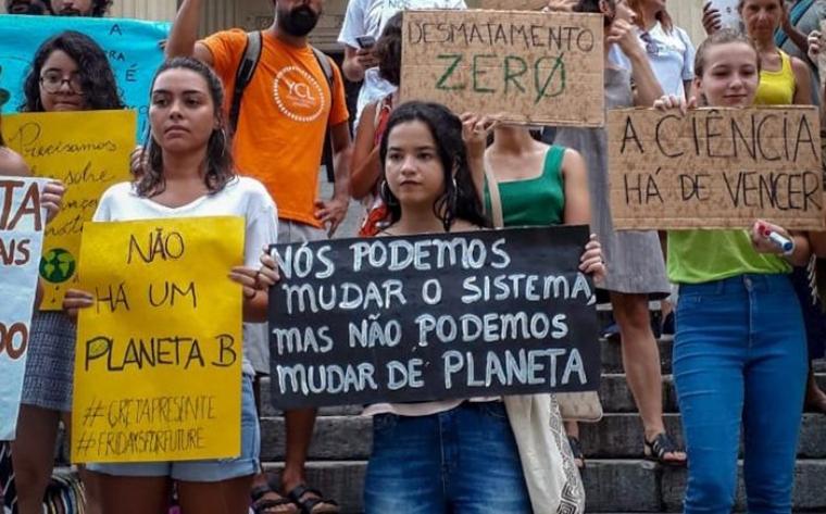Imagem de Jovens, ambientalistas e trabalhadores farão protestos na sexta-feira (20) pela preservação dos direitos e contra aquecimento global