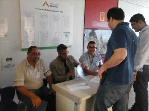 Imagem de Brasília: Aeroportuários elegem representantes na Inframérica