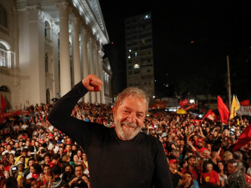 Imagem de Datafolha: Lula lidera primeiro turno e ganha de todos no segundo