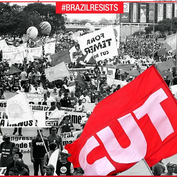 Imagem de 200 mil ocupam Brasília para exigir Diretas e defender os direitos