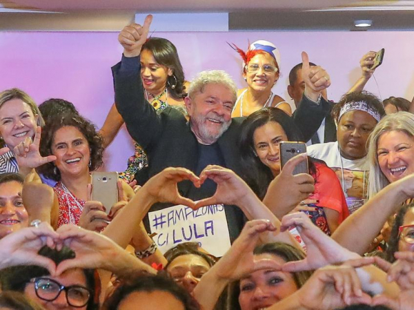 """Imagem de Lula: """"É preciso construir mecanismos efetivos que atraiam mulheres para a política"""""""