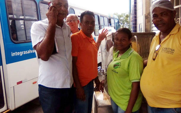 Imagem de Bahia: Rodoviários na estação Mussurunga conquistam melhoria no local de descanso