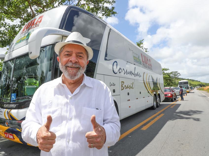 Imagem de Caravana Lula pelo Brasil chega em Minas Gerais